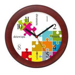 Atrix Zegar drewniany rondo puzzle