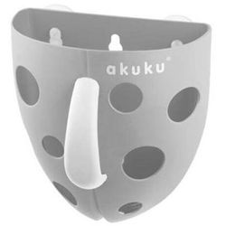 Albis mazur Akuku pojemnik na zabawki kąpielowe szary