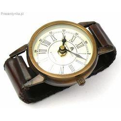 Zegar stojący Retro skóra