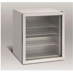 Resto quality Szafa mroźnicza przeszklona | 92l | -9°c do -24°c | 595x516x(h)688mm