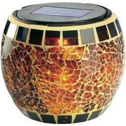 Esotec Lampa solarna ogrodowa brilliant, mozaika (4260057862273)