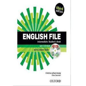 English File Third Edition Intermediate podręcznik + online skills (2013)