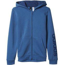 Bluza adidas Essentials Linear Full Zip Hoodie Junior BP8746