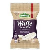 Kupiec Wafle ryżowe z czarnuszką super slim 20 g