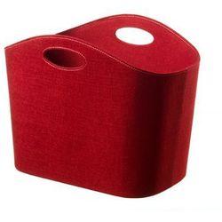 Kosz filcowy - gazetnik Cinas red, 5104048