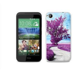 Foto case - htc desire 320 - etui na telefon foto case - purpurowe drzewo wyprodukowany przez Etuo.pl