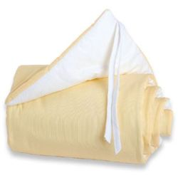 Tobi babybay  ochraniacz original kolor żółty/biały