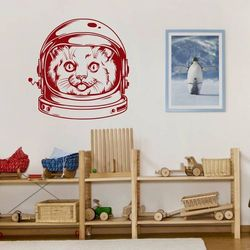 szablon malarski kot kosmonauta 20SM86