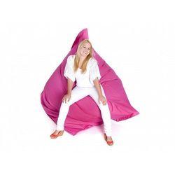 Beliani Nowoczesna pufa worek xxxl 180x230cm różowy