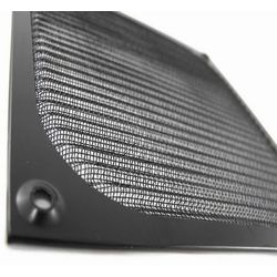 AAB Cooling Aluminiowy Filtr/Grill 80 Czarny - Czarny z kategorii Grille