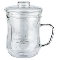 Giardino home kubek szklany 350 ml z zaparzaczem marki Giardino / home-akcesoria kuchenne