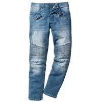 Dżinsy ze stretchem Slim Fit Straight bonprix niebieski