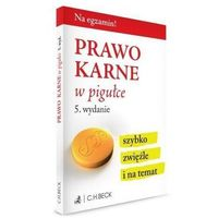 Prawo karne w pigułce - Aneta Gacka-Asiewicz (9788325592455)