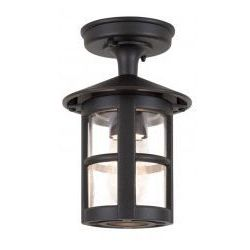 Hereford lampa sufitowa zewnętrzna ip43 elstead bl21a black, marki Elstead lighting