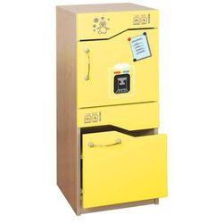 - Lodówka z zamrażarką ED dla dzieci - żółty, produkt marki Educol