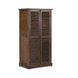 Vente-unique Duża szafa bali - 2 drzwi - dł.90 cm - lite drewno tekowe