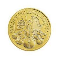 1 uncja Złoty Wiedeński Filharmonik - Złota Moneta - Dostawa 14 dni - produkt z kategorii- Numizmatyka, fil