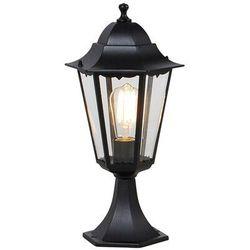 Klasyczny cokół zewnętrzny do latarni czarny 48,6 cm IP44 - Nowy Orlean