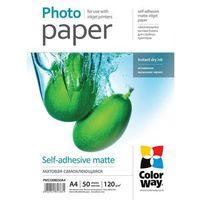 ARSEJ Papier Samoprzylepny Matowy ColorWay A4 120g