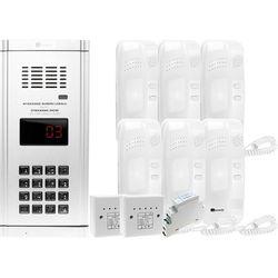 Zestaw domofonowy 6 rodzinny WL-03NL, ZD2491