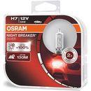 Osram® h7 night breaker® silver + 100%   duobox