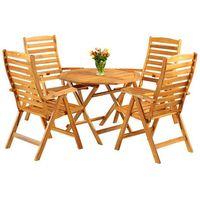 Meble ogrodowe drewniane akacja s93k home&garden (828677) marki Home garden