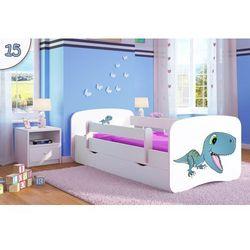 Łóżko dziecięce Kocot-Meble BABYDREAMS DINOZAUR, Kolory Negocjuj Cenę.