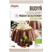 Budyń czekoladowy bezglutenowy ekologiczny 40g eko marki Amylon