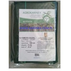 Agrotkanina zielona 100 g/m2, 1,6 x 5 mb. Paczka