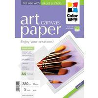 ARSEJ Papier Fotograficzny Canvas Płótno A4 380g 5 szt