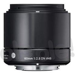 Sigma A 60mm f/2.8 DN czarny Sony E - produkt w magazynie - szybka wysyłka! - sprawdź w wybranym sklepie