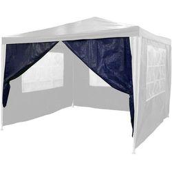 Niebieska ścianka na suwak do pawilonu namiotu marki Mks