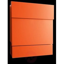 Obszerna skrzynka na listy LETTERMAN V, pomarańcz. (4250208609352)