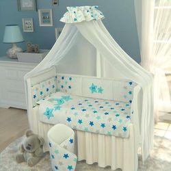 Boboraj łóżeczko niemowlęce z wyposażeniem - zestaw 10 odbierz swój rabat tylko dzisiaj!