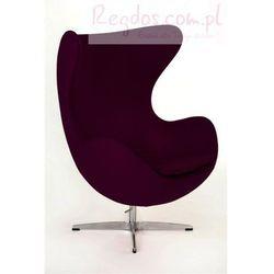 Fotel Jajo fioletowy kaszmir #32, towar z kategorii: Krzesła i stoliki