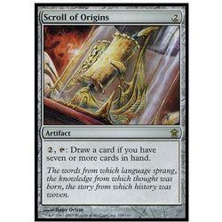 Scroll of origins wyprodukowany przez Brak danych