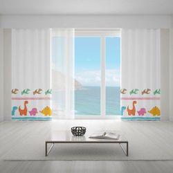 Zasłona okienna na wymiar - PREHISTORIC DINOSAURS