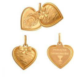 Złoty medalik - 38777 - pr.585 wyprodukowany przez Rodium
