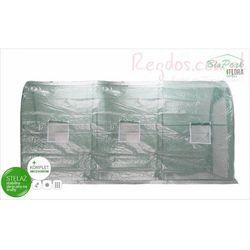 Tunel foliowy ogrodowy 3,5x2x2m szklarnia foliowa 7m² BioPeak z kategorii Szklarnie