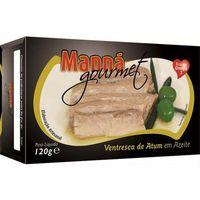 Ventresca portugalskie brzuszki z tuńczyka w oliwie 120g Manná GOURMET