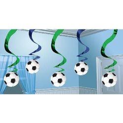 Świderki - piłka nożna - 61 cm - 5 szt. marki Amscan