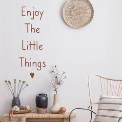 Szablon malarski enjoy the little things 2499 marki Wally - piękno dekoracji