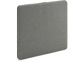 Ścienny panel dźwiękochłonny zip 800x650 mm szary czarny suwak marki Aj