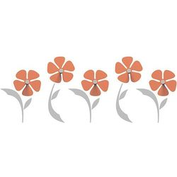 Wieszak ścienny flo  pomarańczowy marki Calleadesign