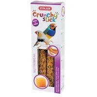 Zolux  crunchy stick ptaki egzotyczne proso/miód 85 g- rób zakupy i zbieraj punkty payback - darmowa wysyłk