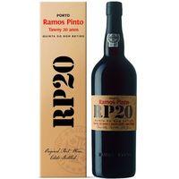 Ramos Pinto 20 Years Old Port, Quinta Do Bom Retiro - oryginalny kartonik