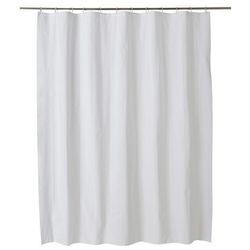 Cooke&lewis Zasłonka prysznicowa palmi 180 x 200 cm biała (3663602965848)