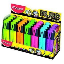 Zakreślacz fluo peps różowy pudełko 12 sztuk