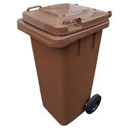 Pojemnik do segregacji odpadów Bio 240 l brązowy, 27015