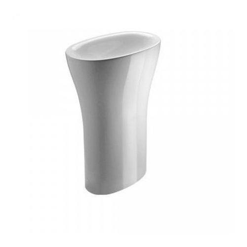 muse umywalka wolnostojąca, odpływ poziomy, biały błyszczący - 1frpmu00, marki Catalano
